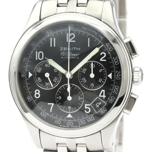 Zenith Class Automatic Stainless Steel Men's Sports Watch 02.0501.400
