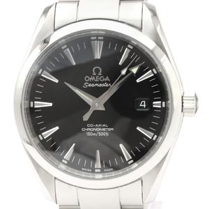 【OMEGA】オメガ シーマスター アクアテラ コーアクシャル ステンレススチール 自動巻き メンズ 時計 2503.50