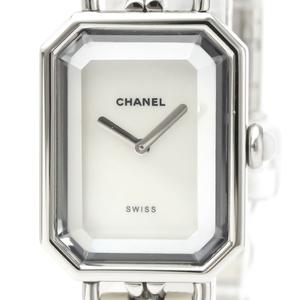 Chanel Premiere Quartz Stainless Steel Women's Dress Watch H1639
