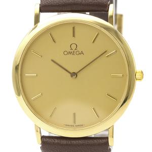 オメガ(Omega) デビル クォーツ ゴールドプレーティング(GP) メンズ ドレスウォッチ 195.0075