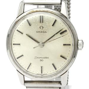 【OMEGA】オメガ シーマスター 30 ステンレススチール 手巻き メンズ 時計 135.007