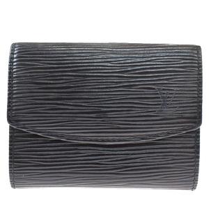 ルイ・ヴィトン(Louis Vuitton) エピ ポルトモネ・サーンプル エピ M63412 ユニセックス レザー 小銭入れ・コインケース ブラック