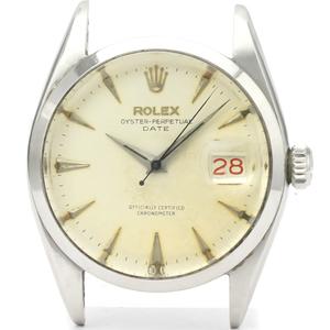ロレックス(Rolex) オイスター・パーペチュアル・デイト 自動巻き ステンレススチール(SS) メンズ ドレスウォッチ 6534
