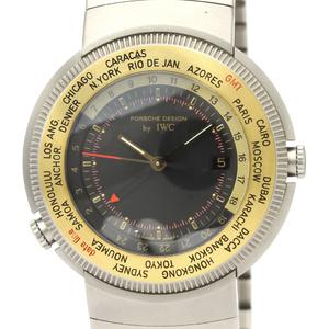 IWC Porsche Design Quartz Titanium,Yellow Gold (18K) Men's Sports Watch