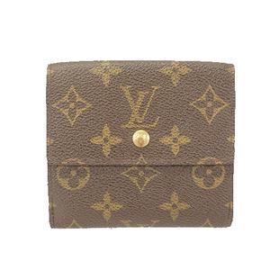 ルイヴィトン 三つ折り財布 モノグラム ポルトモネビエカルトクレディ M61652