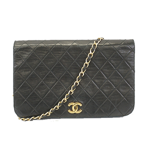 Auth Chanel Matelasse  Chain Shoulder Women's Leather