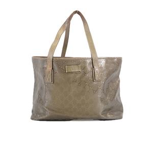 Auth Gucci GG Imprimate Tote Bag 211137 GG Imprimé Tote Bag Khaki