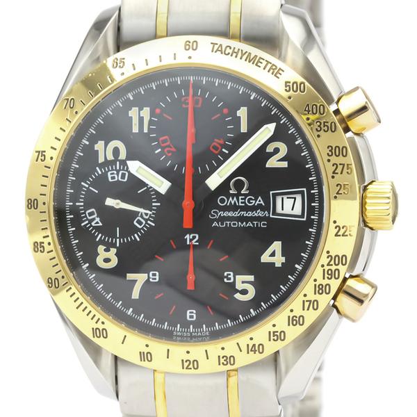 【OMEGA】オメガ スピードマスター デイト マーク 40 K18 ゴールド ステンレススチール 自動巻き メンズ 時計 3313.53