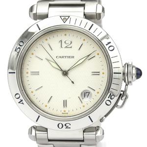 カルティエ(Cartier) パシャ・ドゥ・カルティエ 自動巻き ステンレススチール(SS) メンズ ドレスウォッチ W31027H3