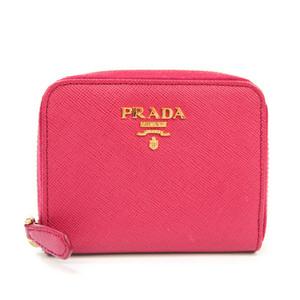 プラダ(Prada) サフィアーノ レディース Saffiano 小銭入れ・コインケース ピンク