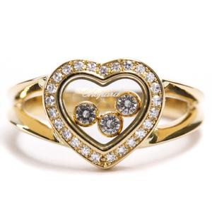 ショパール(Chopard) ハッピーダイヤモンド 82/4502 K18イエローゴールド(K18YG) ダイヤモンド バンドリング