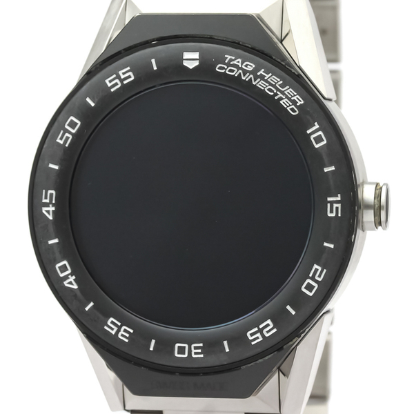 Tag Heuer Connected Quartz Titanium Men's Sports Watch SBF818000