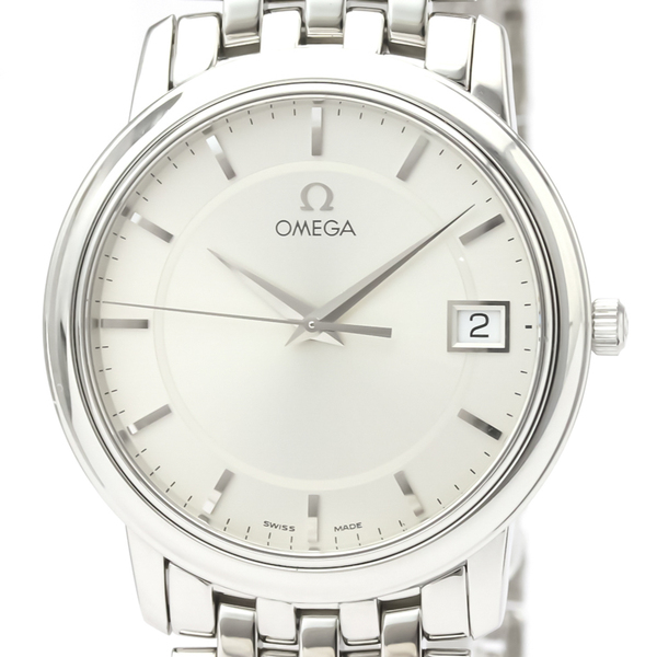 オメガ(Omega) デビル クォーツ ステンレススチール(SS) メンズ ドレスウォッチ 4510.31