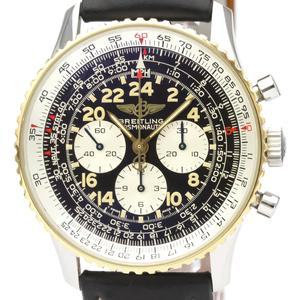 Breitling Navitimer Mechanical Stainless Steel,Yellow Gold (18K) Men's Sports Watch D12022