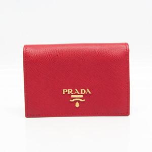 プラダ(Prada) 1M0945 Saffiano Metal 名刺入れ Fuoco(フオッコ)