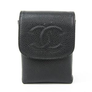 シャネル(Chanel) タバコケース キャビアスキン ブラック iQOSケース A13511
