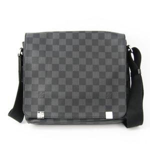 ルイ・ヴィトン(Louis Vuitton) ダミエ・グラフィット ディストリクトPM NM N41028 メンズ ショルダーバッグ ダミエ・グラフィット