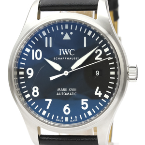 IWC Pilot Watch Automatic Stainless Steel Men's Sports Watch IW327009