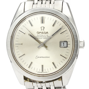 Omega Seamaster Automatic Stainless Steel Men's Dress Watch 166.028