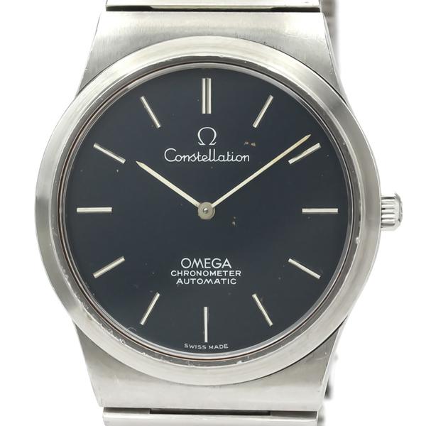 オメガ(Omega) コンステレーション 自動巻き ステンレススチール(SS) メンズ ドレスウォッチ 157.0002