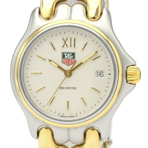 Tag Heuer Sel Quartz Gold Plated,Stainless Steel Men's Dress Watch S05.013
