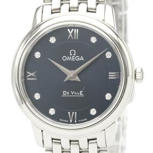 Omega De Ville Quartz Stainless Steel Women's Dress Watch 424.10.27.60.53.001