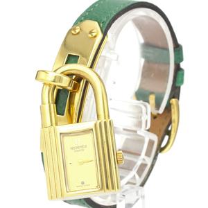 Hermes Kelly Quartz Gold Plated Women's Dress Watch