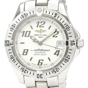 Breitling Colt Automatic Stainless Steel Men's Sports Watch A17350