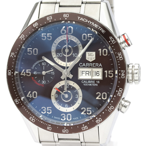 Tag Heuer Carrera Automatic Stainless Steel Men's Sports Watch CV2A12