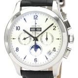 Polished ZENITH Class Moonphase Steel  Automatic Watch 03.0510.4100 BF528369