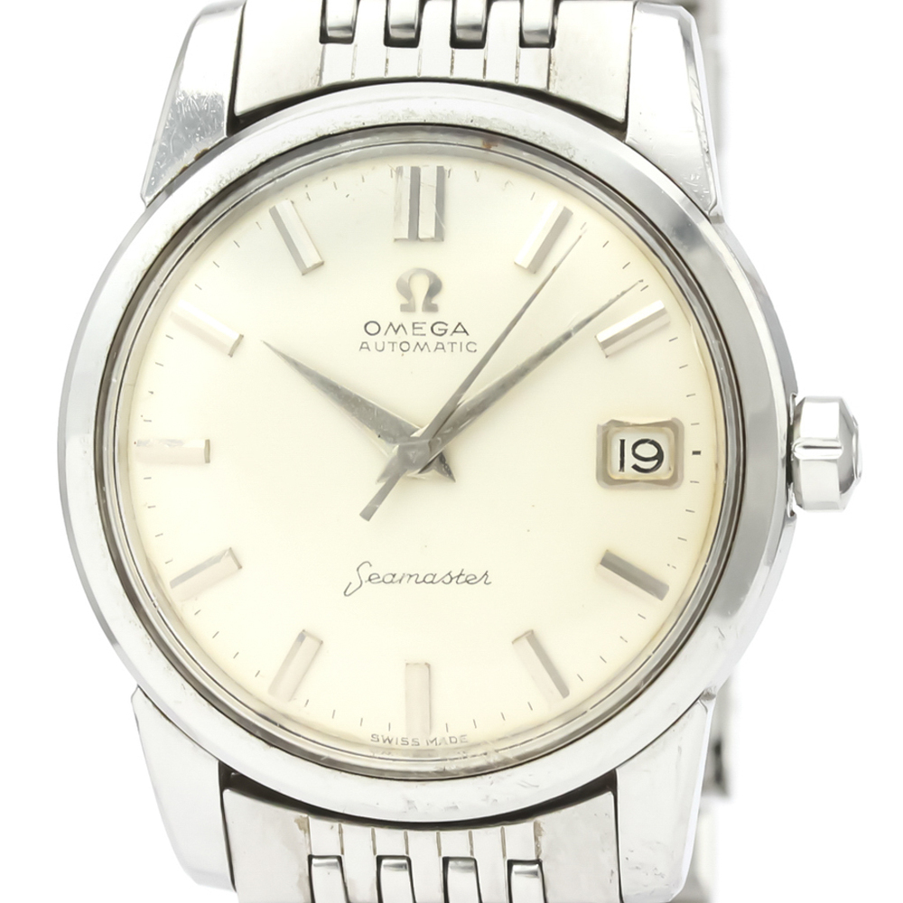 Omega Seamaster Automatic Stainless Steel Men's Dress Watch 2849