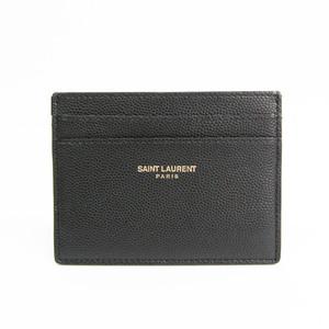 サン・ローラン(Saint Laurent) 375946 レザー カードケース ブラック