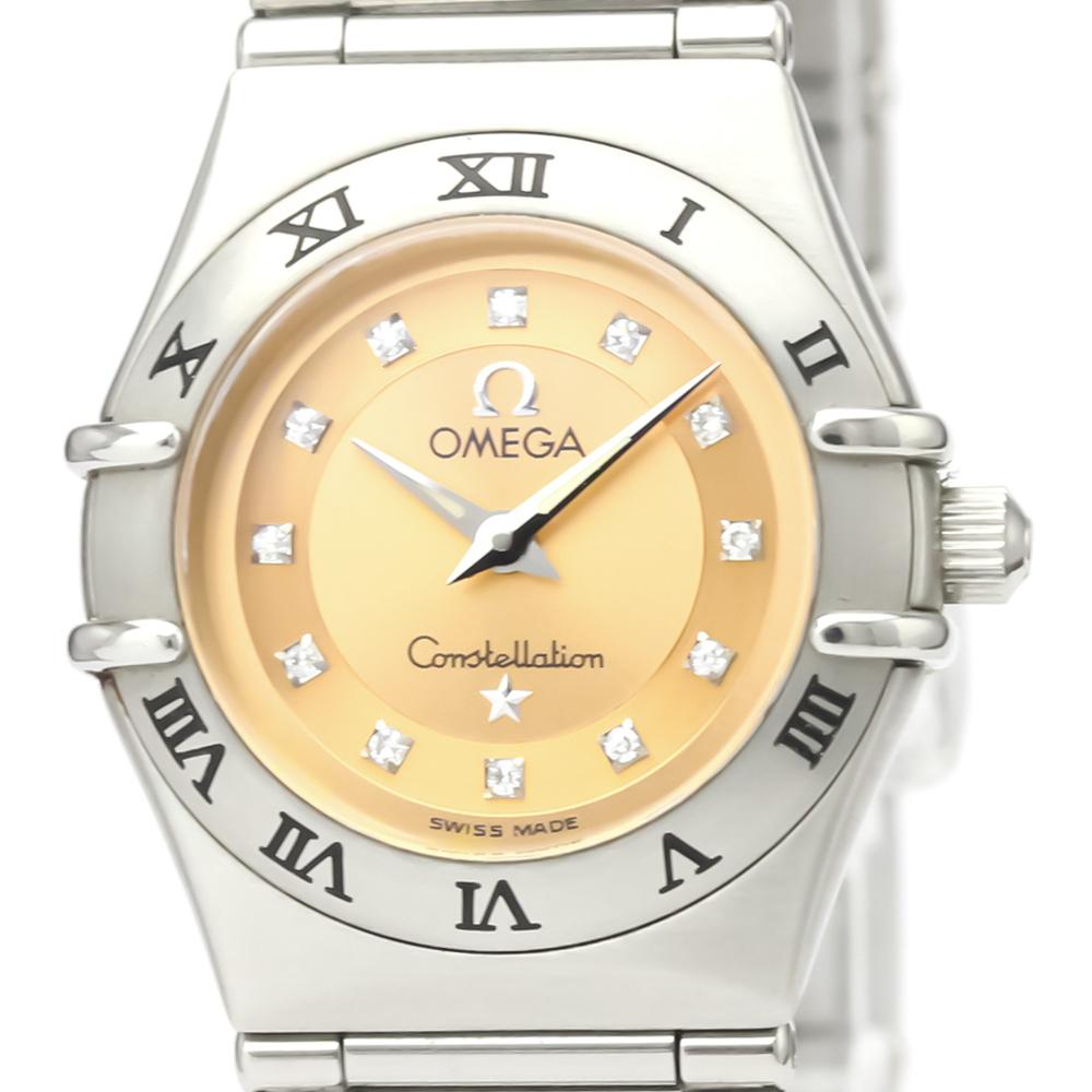 Omega Constellation Quartz Stainless Steel Women's Dress Watch 1564.65