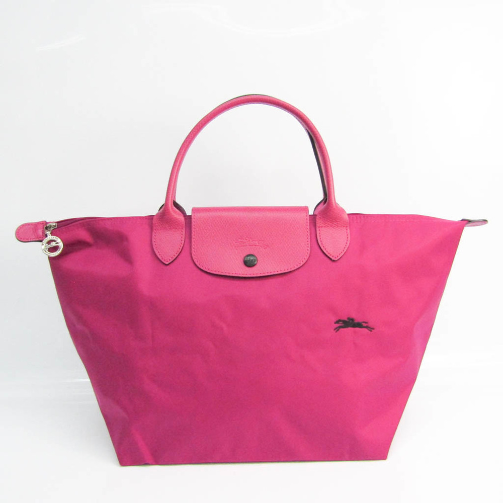 ロンシャン(Longchamp) ル・プリアージュ CLUB 1623 619 P40 レディース レザー,ナイロン ハンドバッグ ピンク