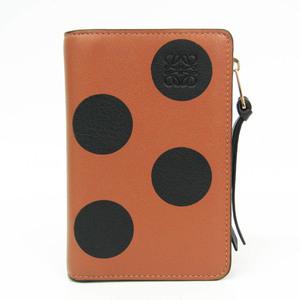 ロエベ(Loewe) 127.93.P30 レザー カードケース ブラック,ブラウン