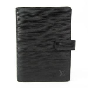 ルイ・ヴィトン(Louis Vuitton) エピ パーソナルサイズ 手帳 ノワール アジェンダMM R20042
