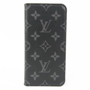 ルイ・ヴィトン(Louis Vuitton) モノグラム・エクリプス フォリオ M67484 モノグラムエクリプス 手帳型/カード入れ付きケース iPhone XS Max 対応 モノグラムエクリプス