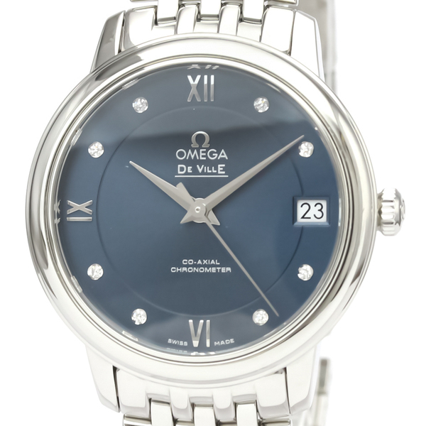 Omega De Ville Automatic Stainless Steel Women's Dress Watch 424.10.33.20.53.001