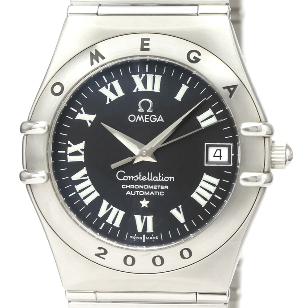 Omega Constellation Automatic Stainless Steel Men's Dress Watch 1504.50