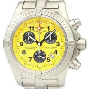 【BREITLING】ブライトリング クロノアベンジャー チタン クォーツ メンズ 時計 E73360