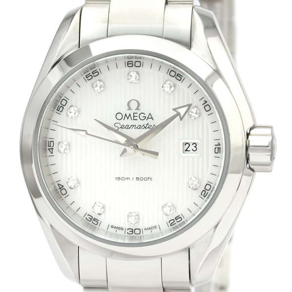 Omega Seamaster Quartz Stainless Steel Women's Sports Watch 231.10.30.60.55.001