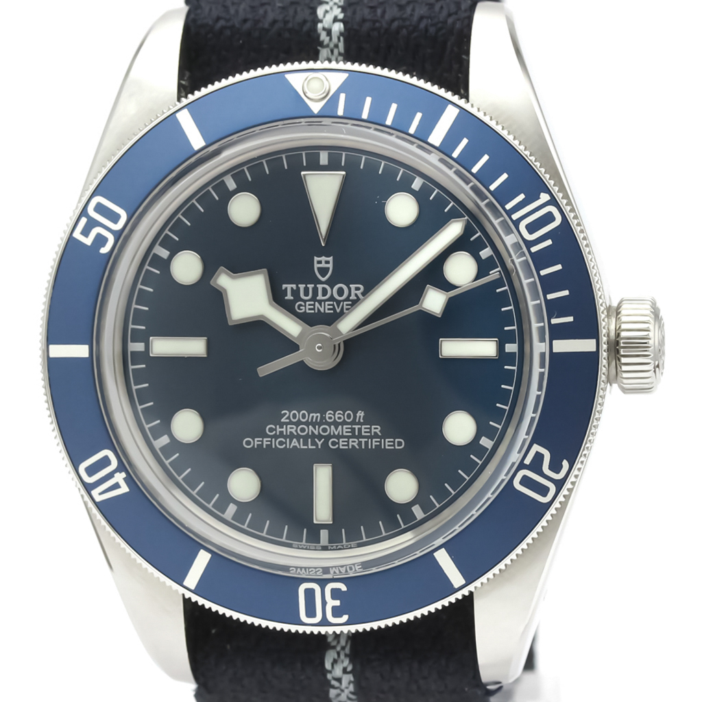 Tudor Black Bay Automatic Stainless Steel Men's Sports Watch 79030B