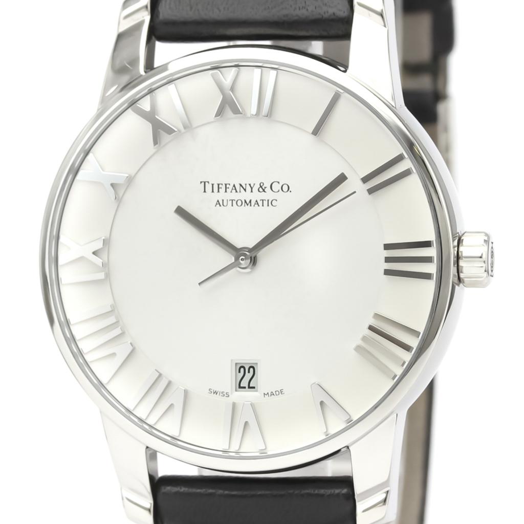 Tiffany Atlas Automatic Stainless Steel Men's Dress Watch Z1810.68.10A21A50A
