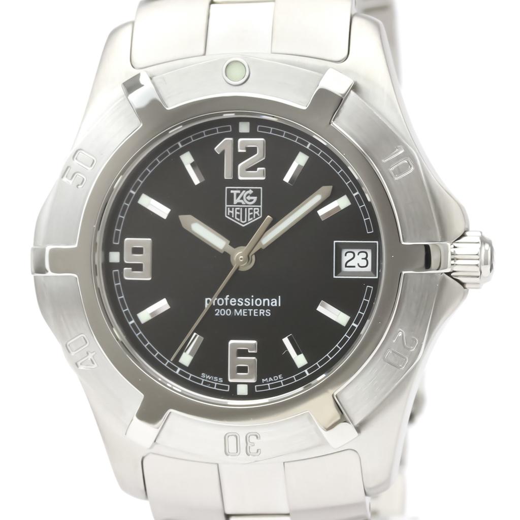 【TAG HEUER 】タグホイヤー 2000 エクスクルーシブ ステンレススチール  クォーツ メンズ 時計 WN1110