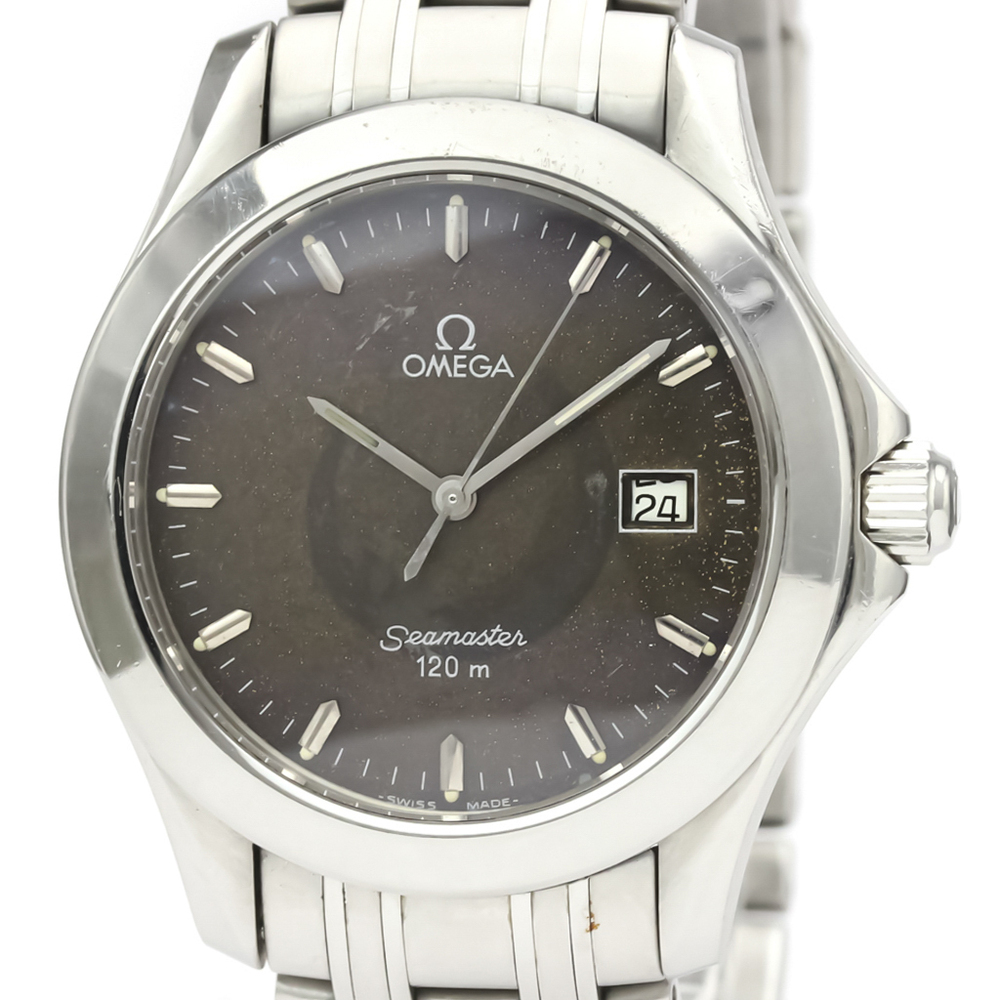 Omega Seamaster Quartz Stainless Steel Men's Sports Watch 2511.41
