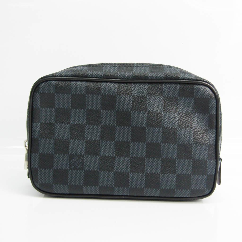 ルイ・ヴィトン(Louis Vuitton) ダミエ・コバルト トゥルース トワレPM N47524 ユニセックス ポーチ ダミエ・コバルト