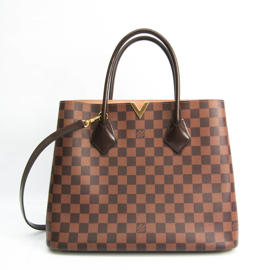 ルイ・ヴィトン(Louis Vuitton) ダミエ ケンジントン N41435 レディース ハンドバッグ,ショルダーバッグ エベヌ