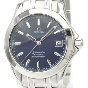 【OMEGA】オメガ シーマスター 120M ジャックマイヨール 2001 限定 ステンレススチール 自動巻き メンズ 時計 2507.80