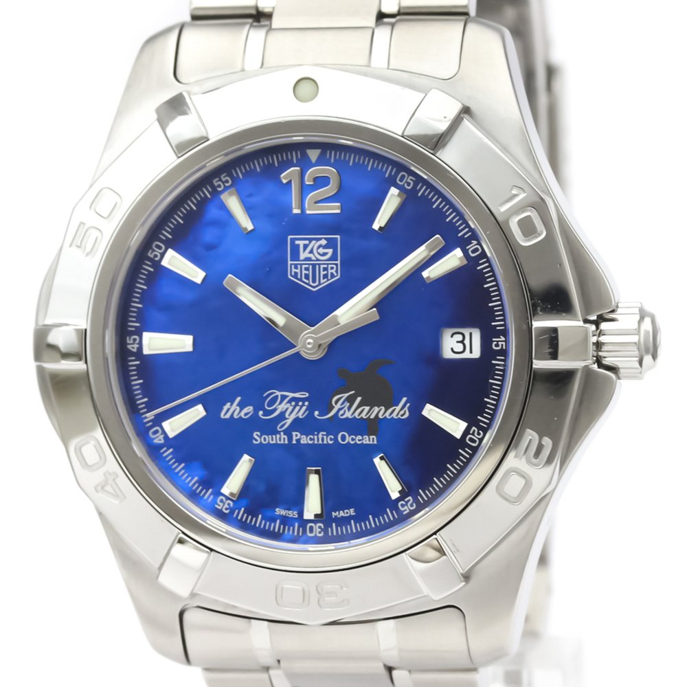 Tag Heuer Aquaracer Automatic Stainless Steel Men's Sports Watch WAF211F