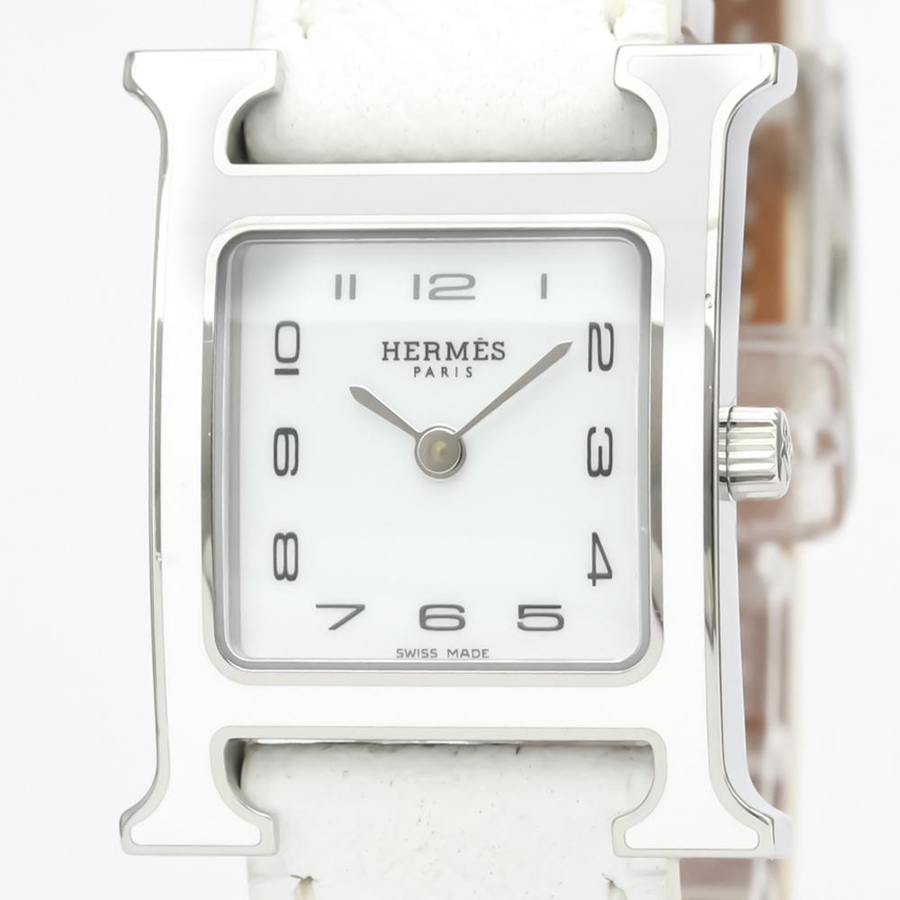Hermes Heure H Quartz Stainless Steel Women's Dress Watch HH1.220